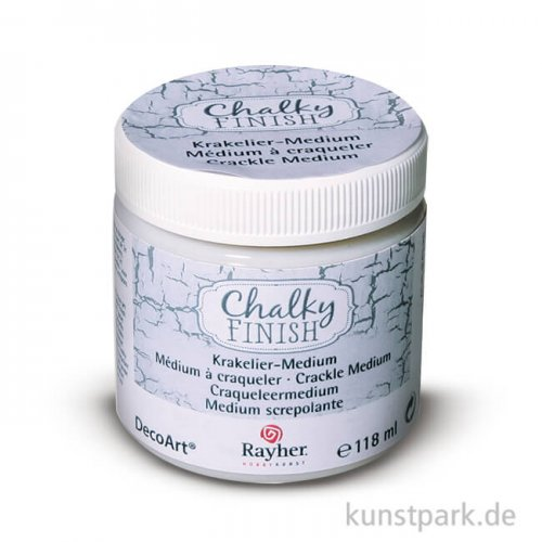 Chalky Finish Krakelier-Medium 118 ml