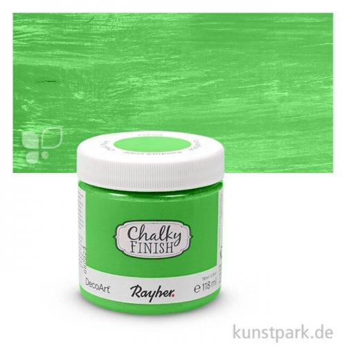 Chalky Finish, Kreidefarbe auf Wasserbasis 118 ml | Immergrün