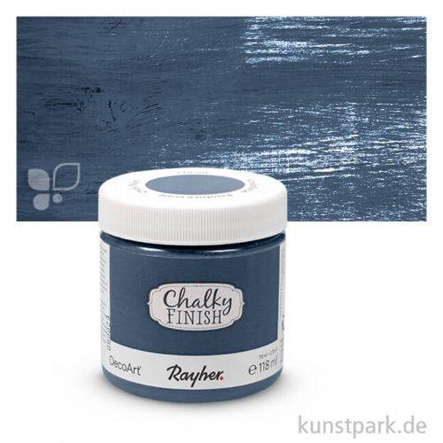 Chalky Finish, Kreidefarbe auf Wasserbasis 118 ml | Nachtblau