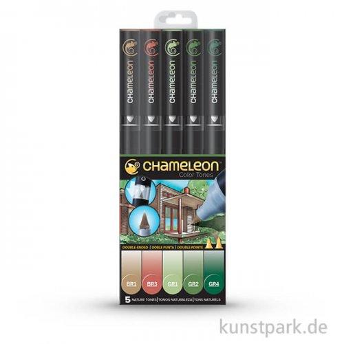 Chameleon Pen Set - 5 NatureTones
