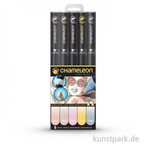 Chameleon Pen Set - 5 Pastell Tones