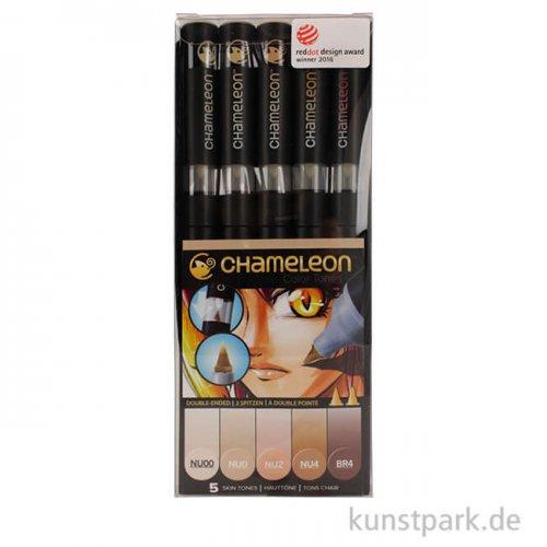 Chameleon Pen Set - 5 Skin Tones