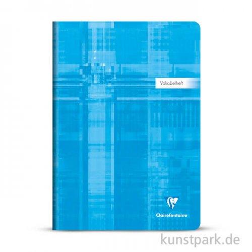 Clairefontaine Vokabelheft DIN A4, 40 Blatt, 90g, liniert