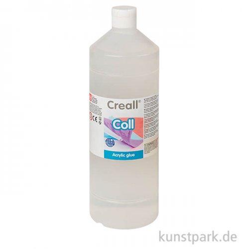 Creall COLL transparenter Bastelleim auf Wasserbasis, 1000 ml