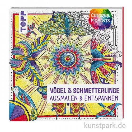 Colorful Moments - Vögel und Schmetterlinge,  Topp Verlag