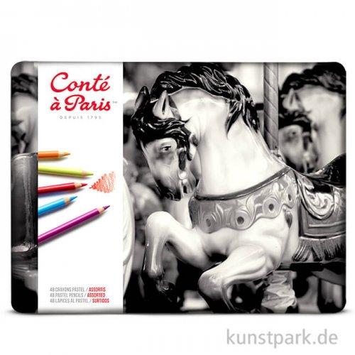 Conte Pastellstifte - 48er Sortiment