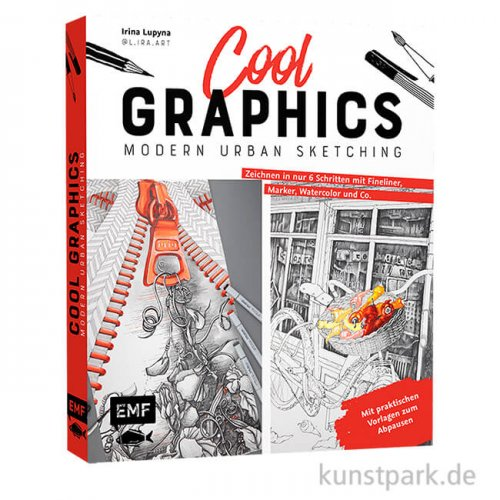 Cool Graphics - Modern Urban Sketching, Edition Fischer