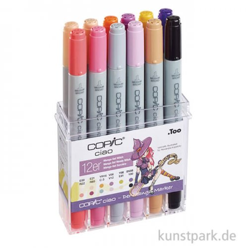 COPIC ciao Set 12er - Witch