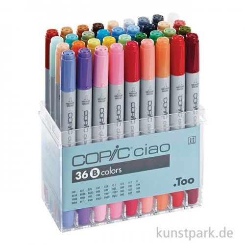 COPIC ciao Set 36er - B