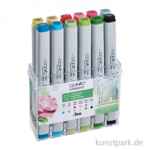 COPIC Marker Set 12er - Frühlingsfarben