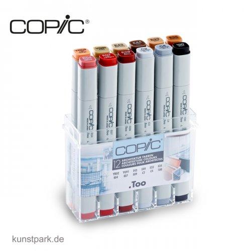 COPIC Marker Set 12er - Architekturfarben