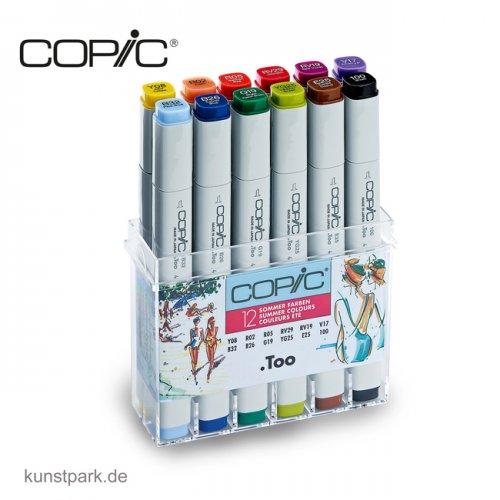 COPIC Marker Set 12er - Sommerfarben