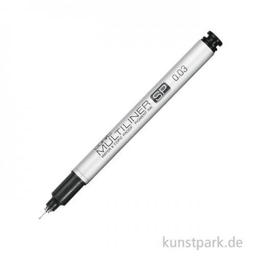 COPIC Multiliner SP - der Profi Fineliner 0,03 mm