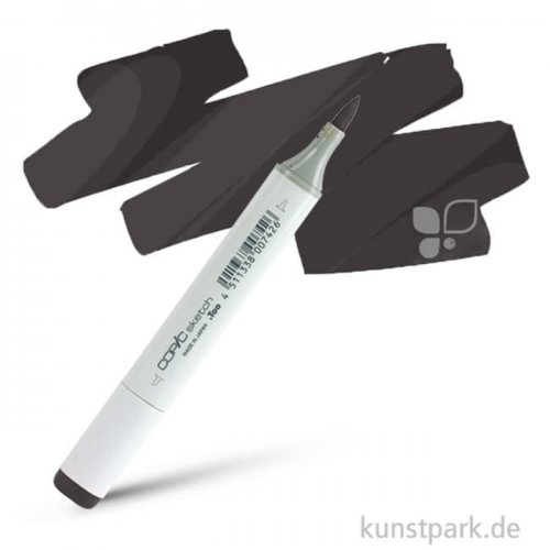 COPIC sketch Einzelmarker Einzelfarbe | 100 Black