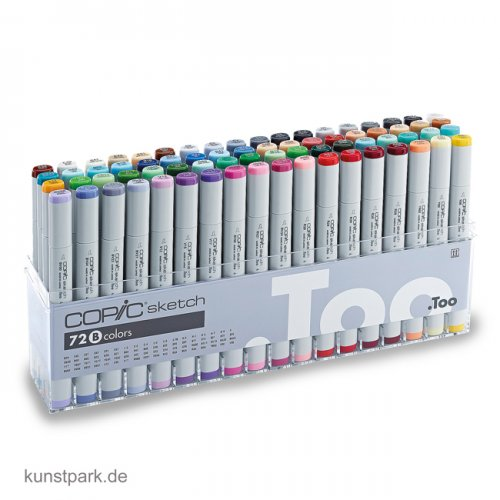 COPIC sketch Set 72er - B