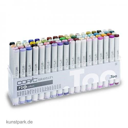 COPIC sketch Set 72er - E