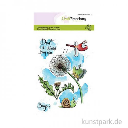 CraftEmotions Clear Stamps - Käfer 2, DIN A6