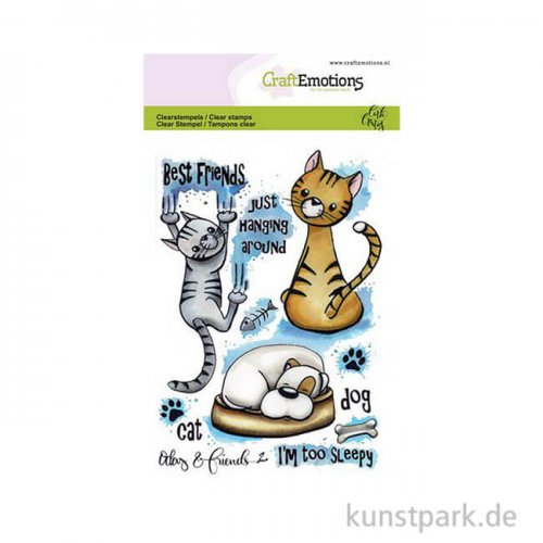 CraftEmotions Clear Stamps - Odey & Friends 2, DIN A6