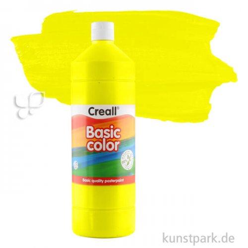 Creall BASIC Gouachefarben 1000 ml Einzelfarbe   02 primär Gelb