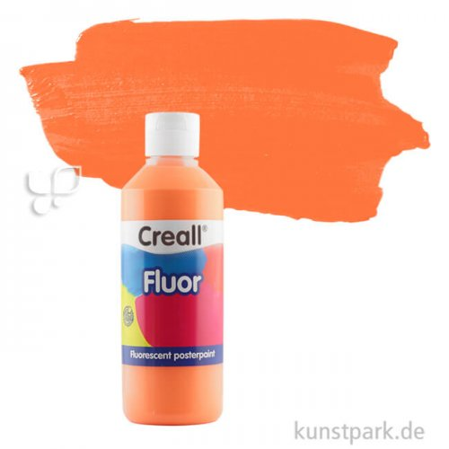 Creall FLUOR Gouachefarben 250 ml | 03 Orange