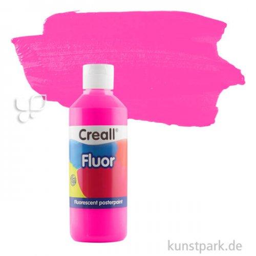 Creall FLUOR Gouachefarben 250 ml Einzelfarbe | 16 Pink