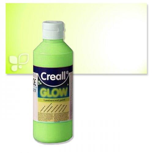 Creall GLOW in the Dark 250 ml Einzelfarbe   Grün