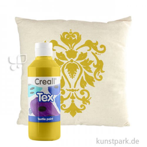 Creall TEX Stoffmalfarbe 250 ml   Gold
