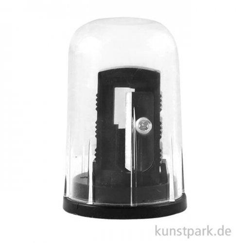 Cretacolor Anspitzer mit Auffangkappe schwarz
