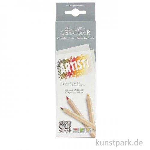 Cretacolor ARTIST Studio - 8 Pastellkreidestifte Portrait