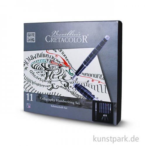 Cretacolor Calligraphy Handwriting Set, 11-teilig mit Anleitung