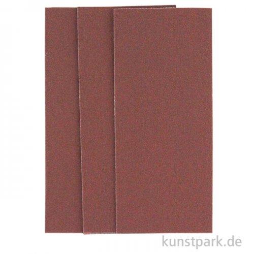 Cretacolor Sandpapier - 3 Stück im Kuvert