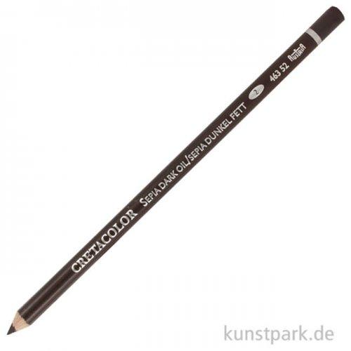Cretacolor Künstlerstift - Sepia dunkel (fett)