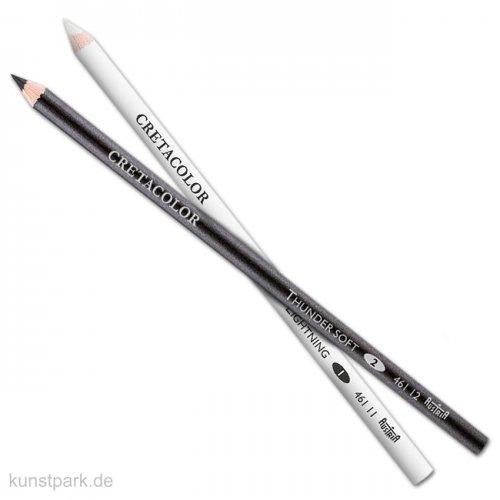 Cretacolor Skizzierstift-Set mit THUNDER & LIGHTNING, je 1 Stift