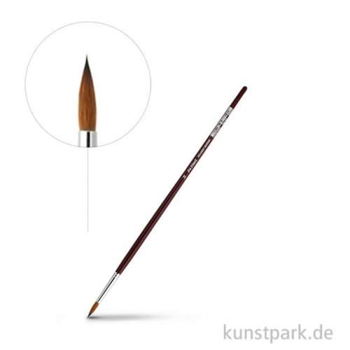 da Vinci Serie 1610 - Rotmarderpinsel rund