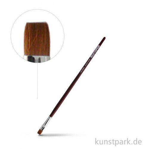 da Vinci Serie 1810 - Kolinsky Rotmarder flach