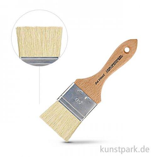 da Vinci Serie 2470 - Weiße Chinaborste breit 50 mm