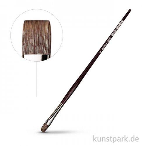 da Vinci Serie 7195 - Grigio Synthetik Flachpinsel 12