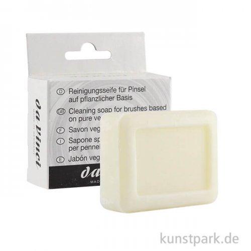 da Vinci Reinigungsseife für Pinsel, 100 g