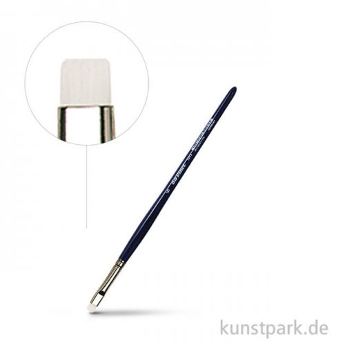 da Vinci Serie 1015 - Pastellpinsel flache Synthetikfasern Größe 6
