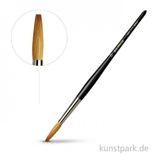 da Vinci Serie 1111 - Schreibpinsel stumpf Rotmarder