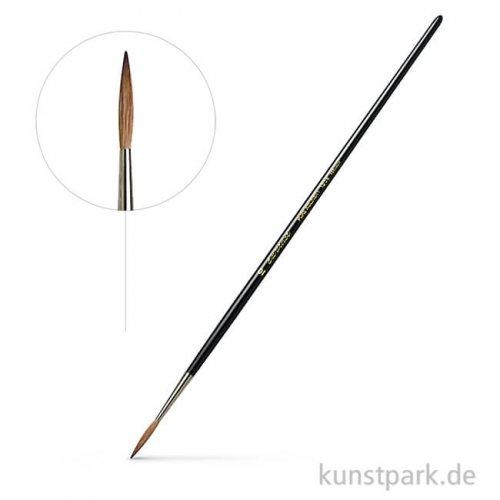 da Vinci Serie 1206 - Schlepper Kolinsky mittellang stumpf gefasst