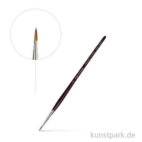 da Vinci Serie 1515 - Retuschierpinsel Kolinsky Rotmarder extrakurz 2