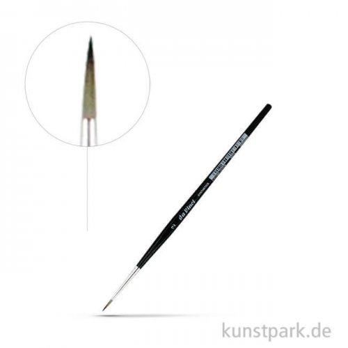 da Vinci Serie 3373 - graue synthetische Faser rund 2