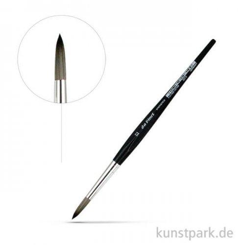 da Vinci Serie 3373 - graue synthetische Faser rund