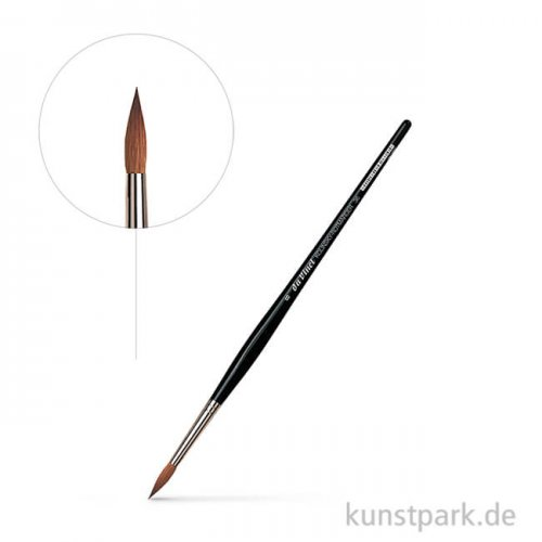 da Vinci Serie 36 - Aquarellpinsel rund Kolinsky-Rotmarderhaare 4