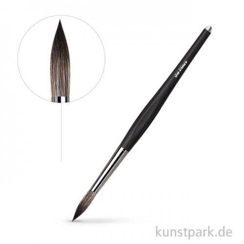da Vinci Serie 599 - Aquarellpinsel rund mit Silberspitze