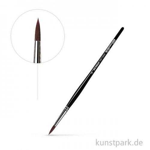 da Vinci Serie 7785K - TOP-ACRYL Pinsel rund, kurz, schwarzer Stiel