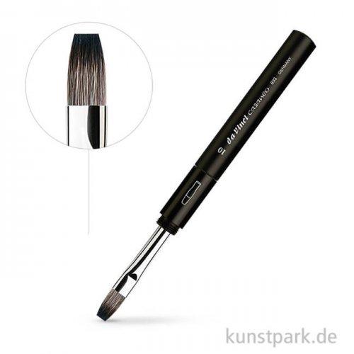 da Vinci Serie 893T - CASANEO Aquarell Reisepinsel flach