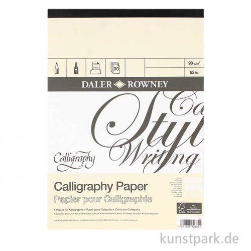 Daler-Rowney Calligraphy Kalligrafieblock, 32 Blatt, 90g
