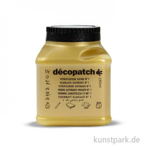 DECOPATCH Klarlack satiniert 180 g